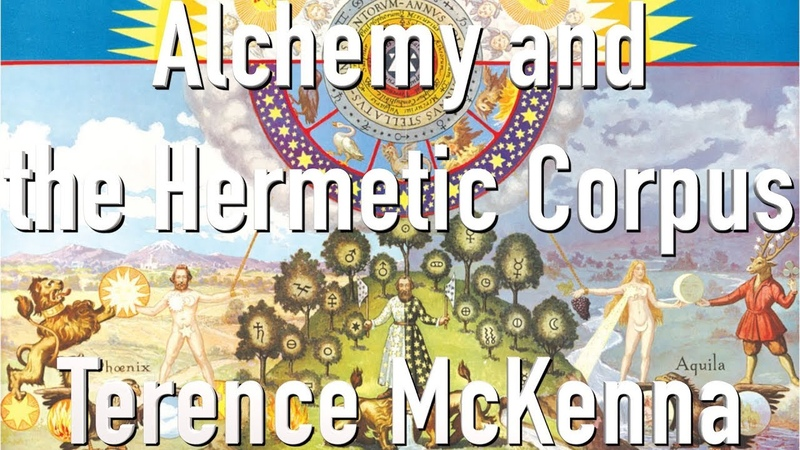 Terence McKenna - Alchemy and the Hermetic Corpus (Video Lecture)
