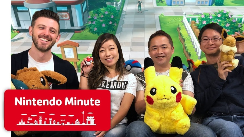 Playing Pokémon Let's Go w Junichi Masuda - Nintendo Minute