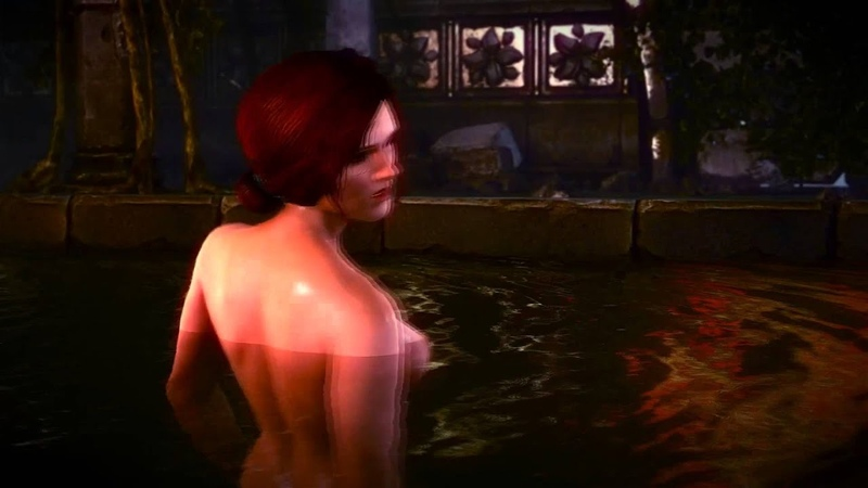 The Witcher 2: Assassins of Kings - Triss Merigold Sex Scene