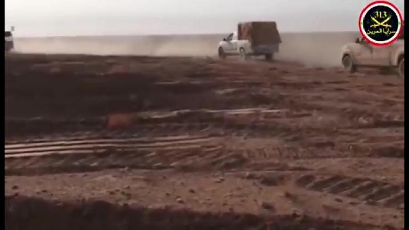 КСИР и союзные им группировки объявили о начале операции против боевиков ИГ* (запрещено в России) , находящихся в пустыне провин