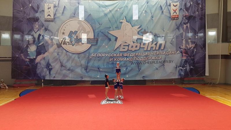 Vesca (Vesca), Пермь, Россия. Cheer Children Group Stunt All Girls