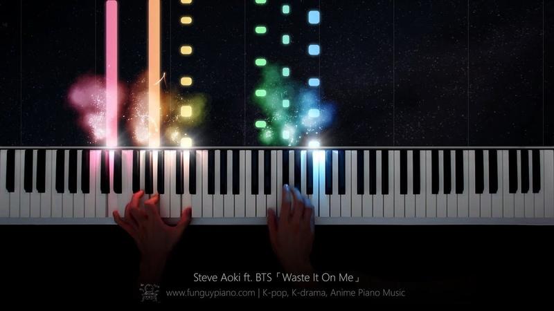 Steve Aoki ft BTS「Waste It On Me」Piano