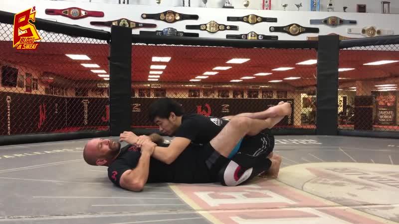 Как подняться из партера. Техника борьбы от Jackson Wink MMA_HD