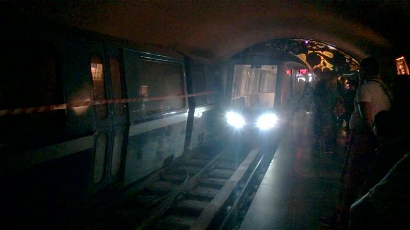 Новоафонская пещера Поезд в подземелье Абхазия сентябрь 2018