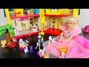 Игрушки Барби и Далматинцы Дисней Играем Рождественские истории 4K HD Детские Мультфильмы