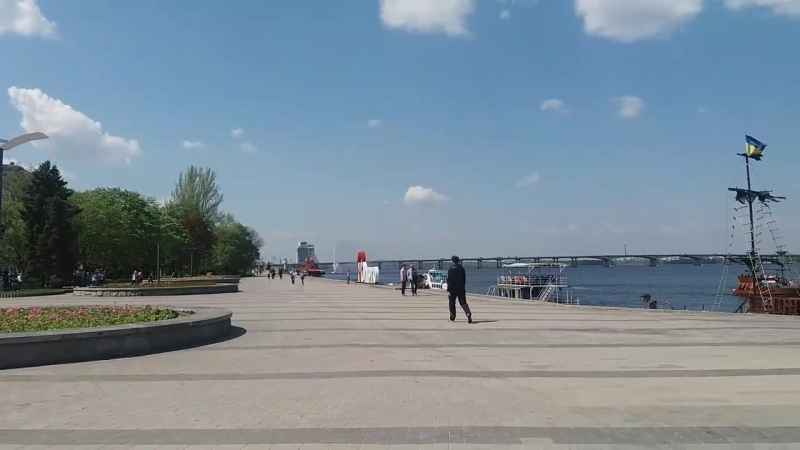 Dnipro on a sunny day❤