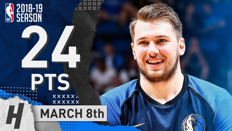 Luka Doncic Full Highlights Mavericks vs Magic 2019.03.08 - 24 Pts, 8 Reb