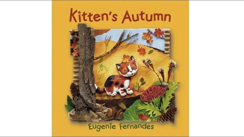 Kittens Autumn by Eugenie Fernandes