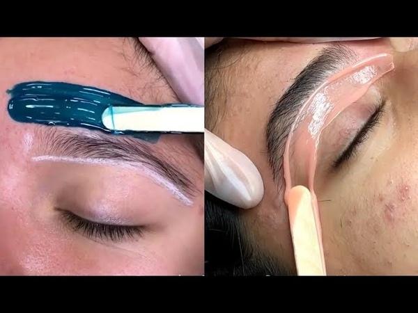Depilación de Cejas con Cera Súper Rápido - Waxing eyebrows - Wax
