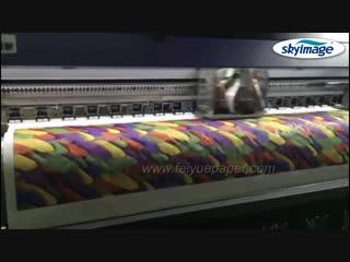 Высокая скорость передачи Быстрая сухая 3,2 м. Крупнейшая сублимационная бумага для теста на 3,2 м. Промышленный струйный принте