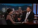 Шейлин на шоу «Jimmy Kimmel Live» 2 рус.субтитры