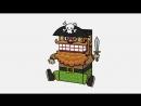 Реквизит для детского праздника с пиратами