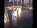 Танцующие фонтаны. Дубаи.