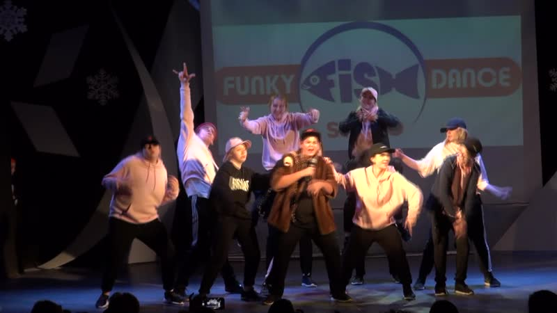 FUNKY-FISH DANCE | Be Funky | Творческая группа