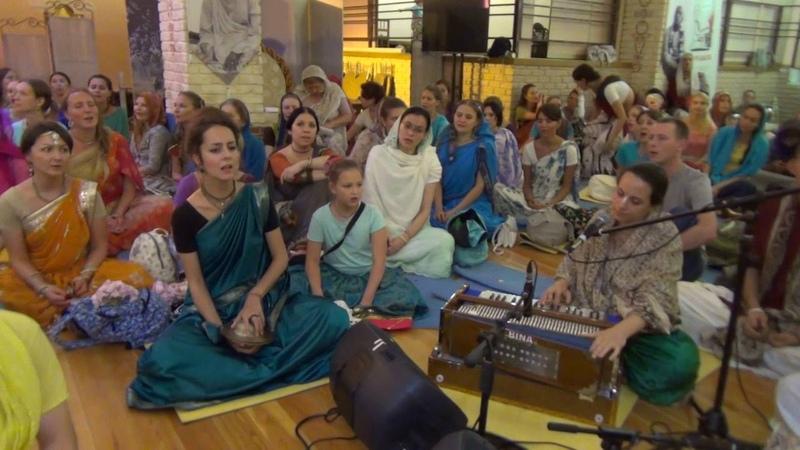 Kirtana Mela 2016 Moscow - Ниламбари деви даси - Киртан 6 - 13.08.2016