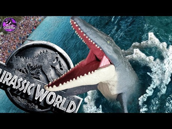 MOSASAURUS Jurassic World Fallen Kingdom Mattel Toys Review