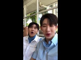 [VK][31.07.2018] Monsta X Google Update - How to pronounce Wonho