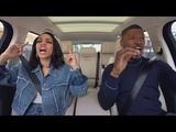 The Apple TV app Carpool Karaoke The Series Jamie Foxx &amp Corinne Foxx Preview