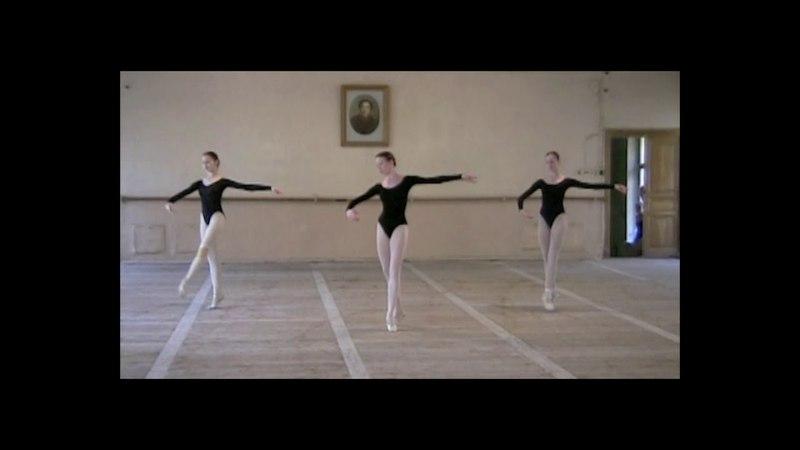 Vaganova Ballet Academy - Girls - year 7 - filmed in 2000