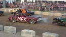 Mitchell Fair Demolition Derby 2018 | Full Size Straight Stock