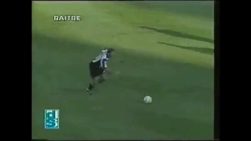 Серия А 1997 1998 гг Бари Италия Ювентус Италия гол Зидана