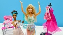 Spielzeugvideo für Kinder Barbie geht zur Schneiderin Puppenvideo