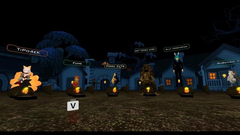 Shakhter играет в мафию VRchat 18 10 18 виар чат виар мафия вервульф