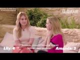 Интервью для «Glamour UK» в рамках промоушена фильма «Мамма Миа: Это снова мы» в Лондоне | 26.03.18 (Русские субтитры)