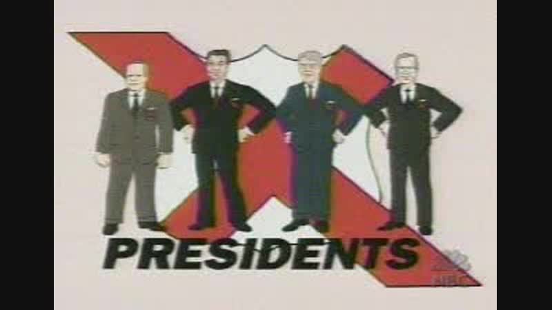 NBC-Saturday Night Live TV Funhouse - X-Presidents-Iraq War Propaganda Cartoons ft Spongebob Squarepants, Powderpuff Girls