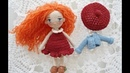 Mini dress crochet / little doll outfit