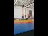 Тренировка по греко-римской борьбе. Группа начальной спортивной подготовки.