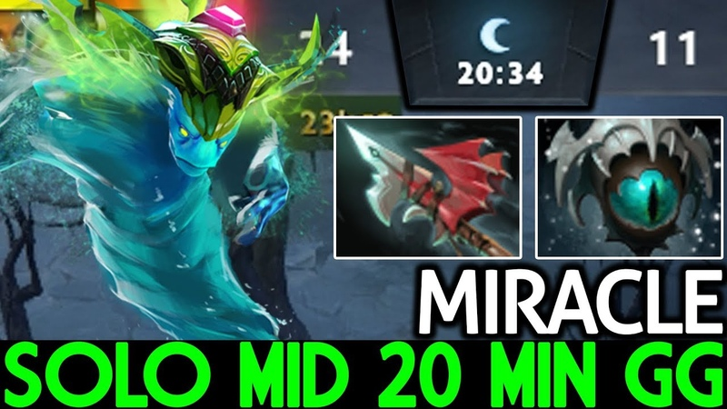 Miracle- [Morphling] Solo Mid 20 Min End Game 7.19 Dota 2