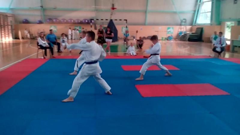 В Сосновоборске прошёл межрегиональный турнир по ВБЕ Сётокан.