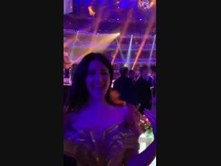 10 декабря 2018: Лана на вечеринке после церемонии «The Fashion Awards»