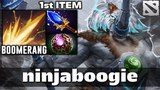 nb Magnus Boomerang Shockwave 1st Item Aghanim's Dota 2