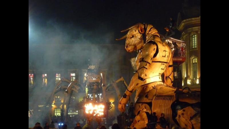 Le gardien du temple - La Machine - Toulouse 02 nov 2018 - Acte II scène 3 - La piqûre