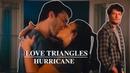 Hurricane Multifandom Love Triangles