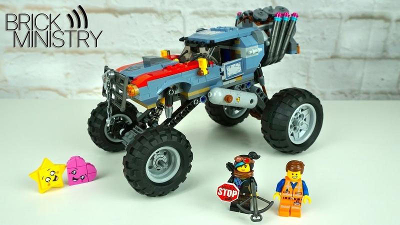 🚘 Крутая тачка Эммета и Люси из LEGO Movie 2 ● 70829 Обзор