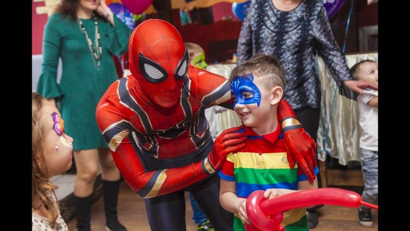Человек Паук на детском дне рождения - это восторг именинника и всех гостей, а значит Праздник с большой буквы!