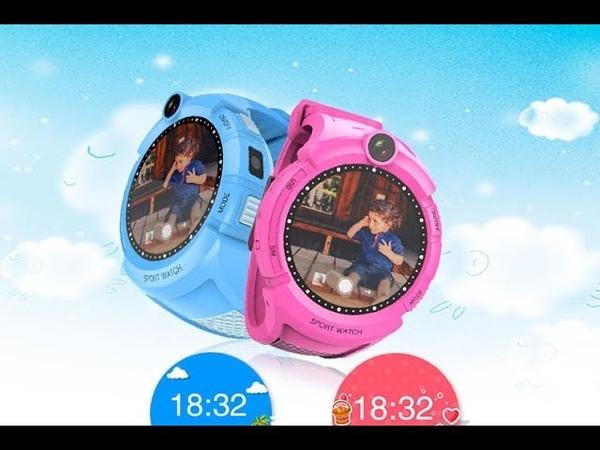 Детские умные GPS часы Q360 GW600 G610 G51 с камерой и фонариком оригинал