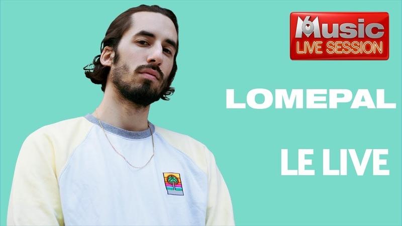 Lomepal fait sa M6 Music Live Session 5 titres en live une interview exclusive