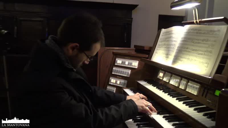 733 J. S. Bach (?) / J. L. Krebs - Meine Seele erhebt den Herren (Fuga sopra il Magnificat), BWV 733 - Lorenzo Antinori, organ