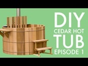 DIY Cedar Hot Tub Episode 1 Finding Affordable Clear Cedar Boards