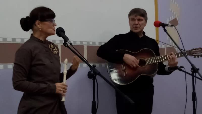 Дуэт Галина Пухова и Михаил Приходько