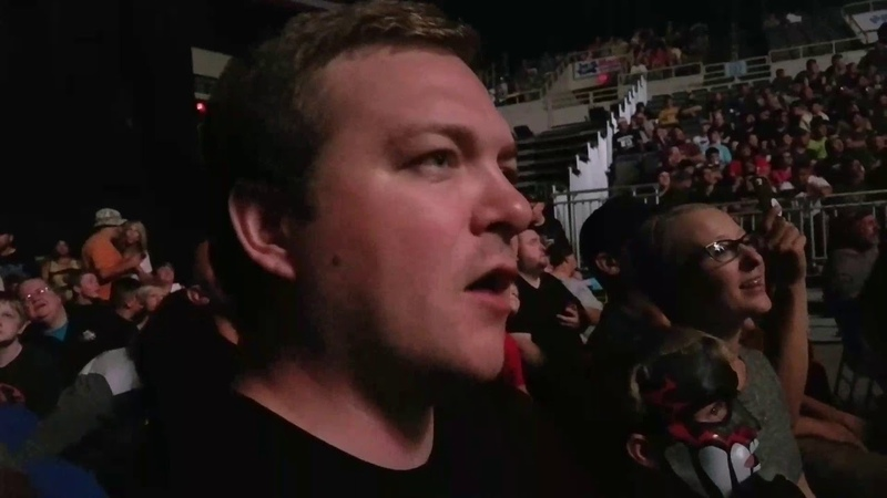 WBSOFG WWE live Bismarck N D Braun Strowman Bobby Roode vs Elias Baron Corbin