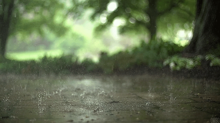 Новый год, анимация дождя для картинки