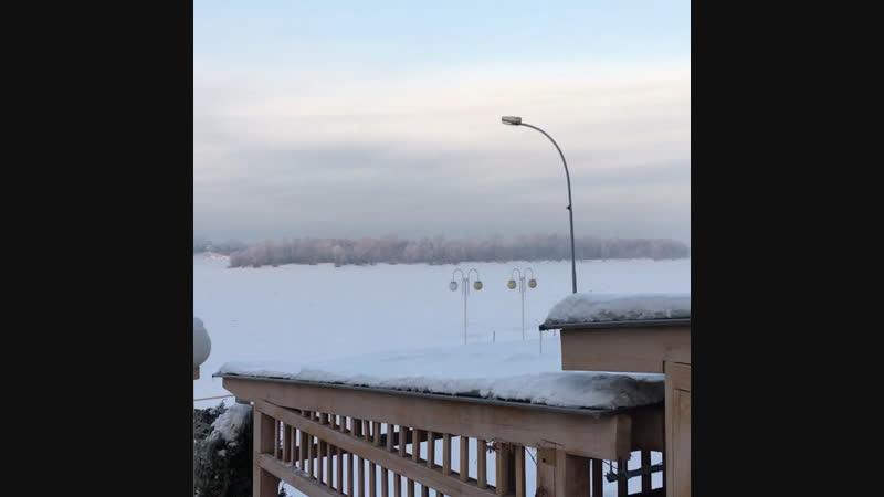 Красив наш Иртыш зимом