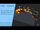 Parametric burning dynamics Part 1 Part 2