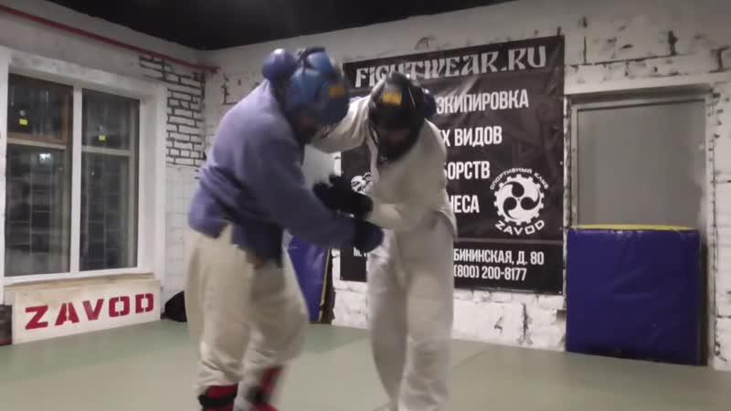 7 Борец - ударник отработка по АРБ