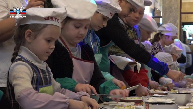 В Донецке организован праздник для детей из семей военнослужащих и прифронтовых районов